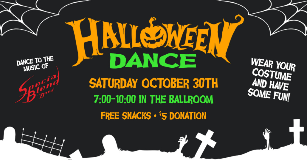 Halloween Dance with Special Blend Band